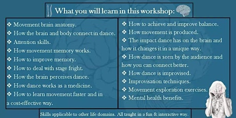 Neuroscience of Dance & Mental Well-being Online Workshop tickets