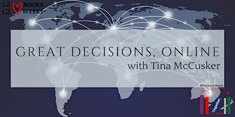 Great Decisions Online w/ Tina: America's Uneven Approach to AI tickets