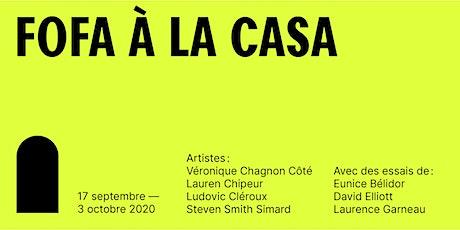 Quatre expositions de la Galerie FOFA billets