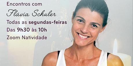 Meditações com Flávia Schuler via Zoom ingressos