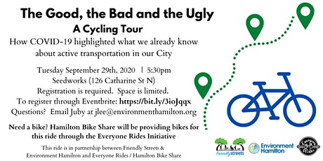 The Good, The Bad, The Ugly - Cycling Tour tickets