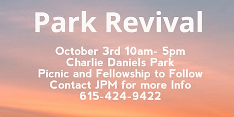 Park Revival tickets