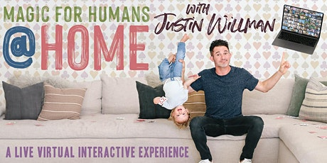 Justin Willman: MAGIC FOR HUMAN @ HOME tickets