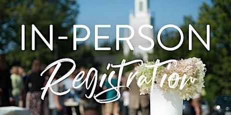 Livestream In-Person Registration tickets