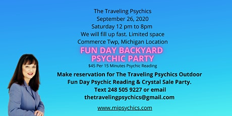 Fun Day Backyard Psychic Reading and Crystal Sale Party tickets