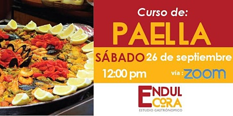 Paella - Curso online billets