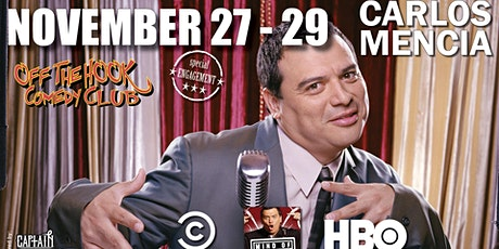 Stand up Comedian Carlos Mencia Live in Naples, Florida! tickets