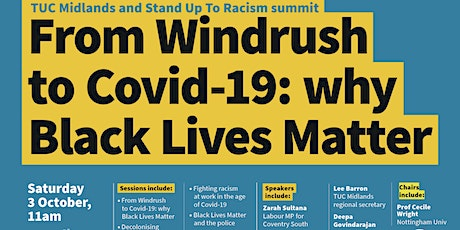Midlands Anti Racist Summit biglietti