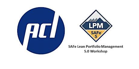 SAFe Lean Portfolio Management Workshop tickets