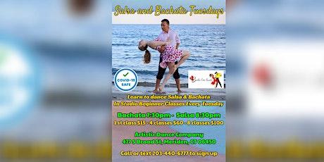 Tuesday Night Salsa & Bachata Dance Classes tickets