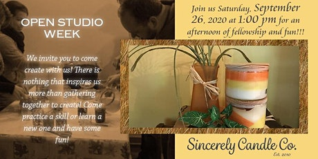 ~Open Studio Week~ We invite you to come create with us! tickets