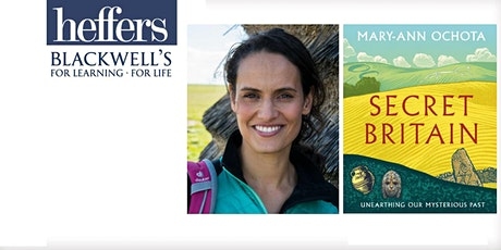 Online event: Secret Britain with Mary-Ann Ochota  - TICKET + SIGNED BOOK tickets
