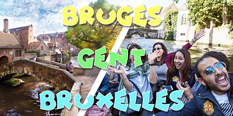 Reporté - Week-end Bruges & Bruxelles & Gand tickets