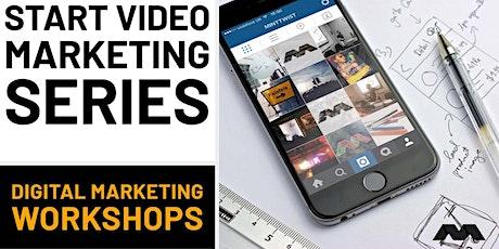Filming a Marketing Video - Digital Marketing Workshop tickets