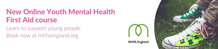2-day Youth Mental Health First Aid  19th and 26th January 2020 image