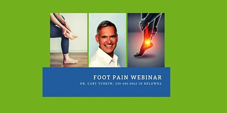 Do you have foot pain? tickets
