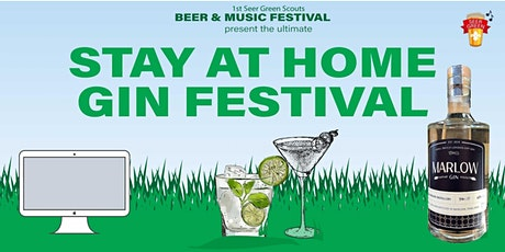 Stay At Home Gin Festival  with Marlow Gin tickets