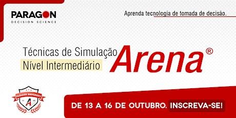 Treinamento Online: Técnicas de Simulação Intermediário -13 a 16 de Outubro ingressos