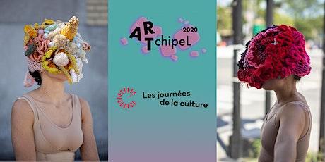 ARTchipeL 2020 — Atelier d'art textile pour enfants « Les têtes de virus » billets