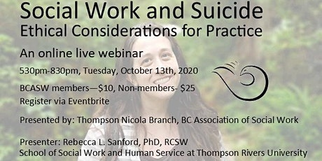 Social Work and Suicide: Ethical Considerations for Practice tickets