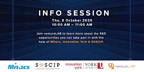 Info Session: Mitacs, Innovation York & SOSCIP tickets