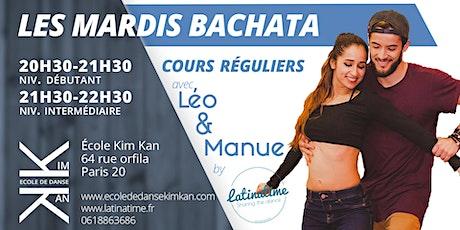 Les mardis bachata avec Léo et Manue - Cours de bachata billets