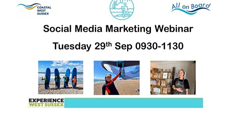Breakfast Webinar Social Media Marketing with Cobb Digital tickets