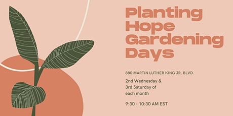 Planting Hope Gardening Days tickets