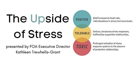 """MPIA - """"The Upside of Stress"""" tickets"""