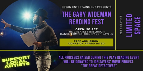 The Gary Wideman Reading Fest tickets