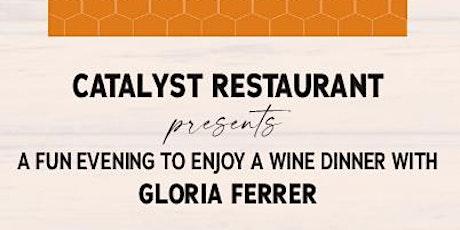 Gloria Ferrer Virtual Wine Tasting at Catalyst Restaurant tickets
