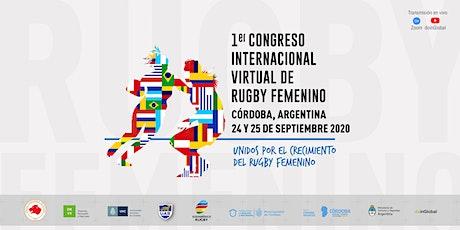 Primer Congreso Internacional Virtual de Rugby Femenino entradas