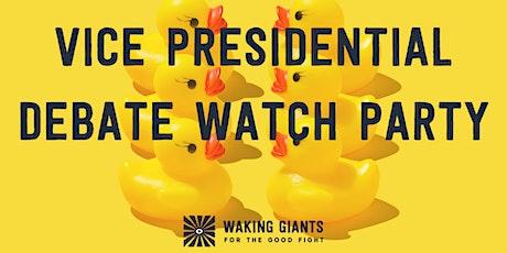 Virtual Vice Presidential Debate Watch Party tickets