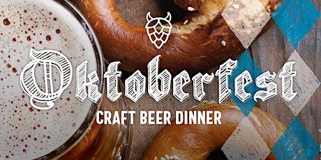 Oktoberfest - Craft Beer Dinner tickets