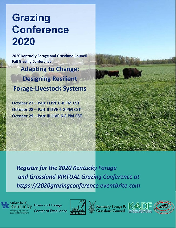 2020 Grazing Conference image