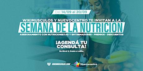 Semana de la Nutrición junto a Wikimúsculos entradas