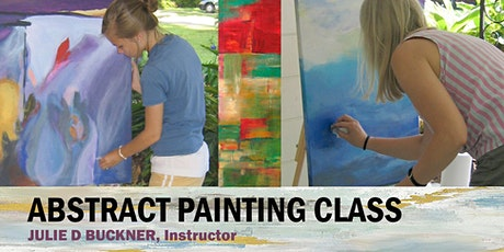 1-Day Abstract Painting Class in Baton Rouge, Louisiana 10/22/20 tickets