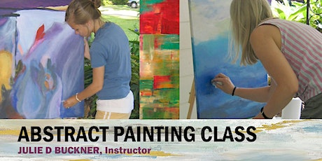 1-Day Abstract Painting Class in Baton Rouge, Louisiana 10/29/20 tickets
