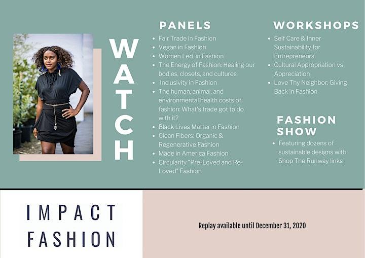 Impact Fashion Show & Summit - REPLAY image