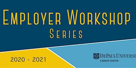 Employer Workshop Series 2020-2021 tickets