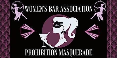 WBA Prohibition Masquerade tickets