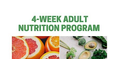 Adult Nutrition Program billets