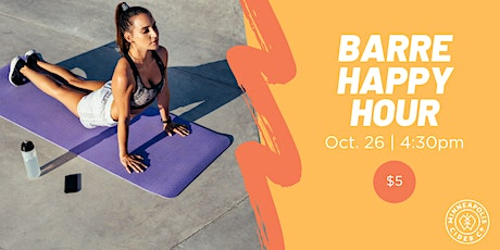Barre Core Happy Hour tickets
