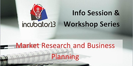 Webinar: Market Research and Business Planning tickets
