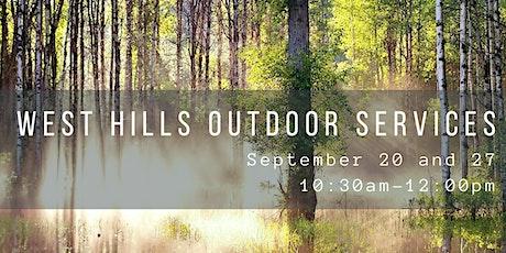 West Hills Outdoor Service tickets