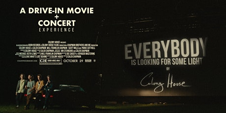 A Drive-In Movie + Concert with Colony House (OCT 29) tickets