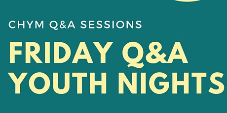 Q&A Online Youth Event tickets