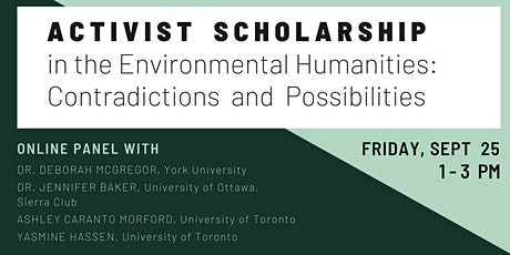 Activist Scholarship in the Environmental Humanities tickets