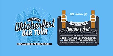 5th Annual Milwaukee Oktoberfest Bar Tour tickets