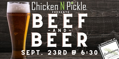 Beef & Beer @ Chicken N Pickle San Antonio tickets